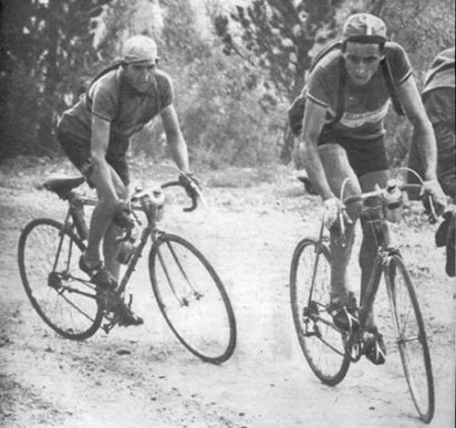 Coppi e Bartali al tour del 1949 (www.bicycling.com)